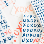 DIY XO Valentine's Day Treat Bags by Idle Hands Awake