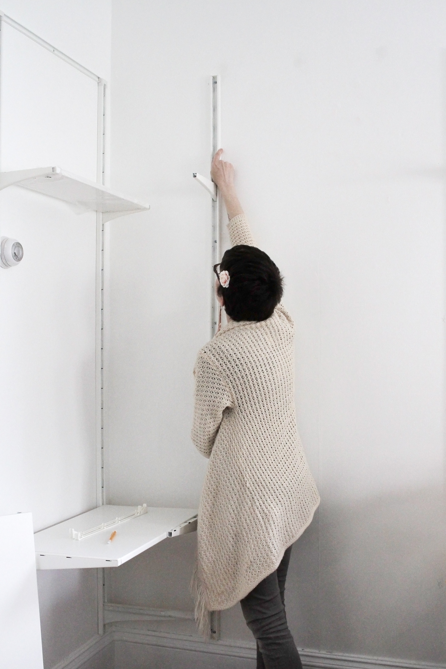 How to Hang Heavy Shelves on Horsehair Plaster Walls - Idle Hands Awake