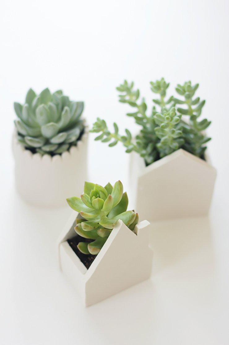 DIY Clay Pots by Say Yes
