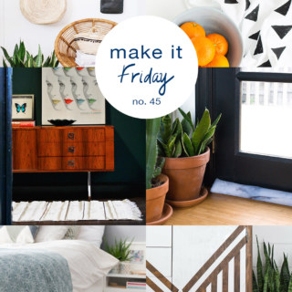Make it Friday // A collection of the best DIY ideas for your weekend. @idlehandsawake