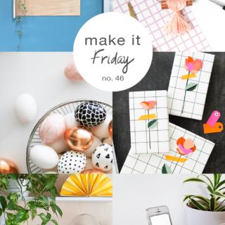 Make it Friday: Plywood and Pastels // DIY ideas to make this weekend via @idlehandsawake