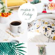 Make it Friday colorful DIY roundup via Idle Hands Awake