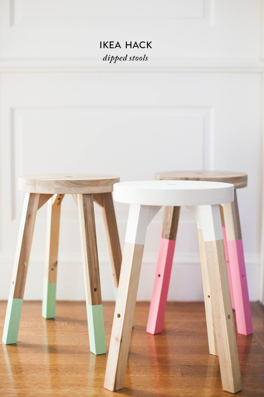 Style Me Pretty Dipped Stools