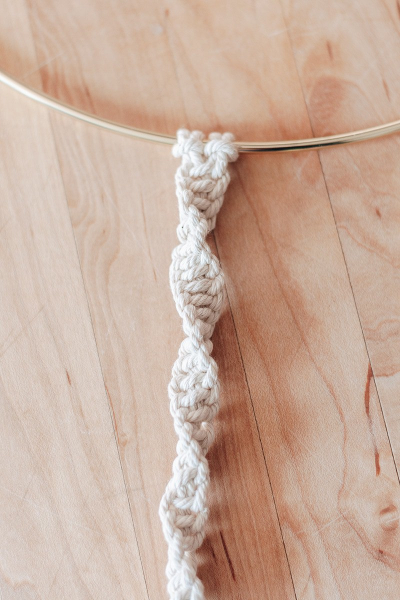 How To Tie Basic Macrame Knots So You Can Macrame All Day