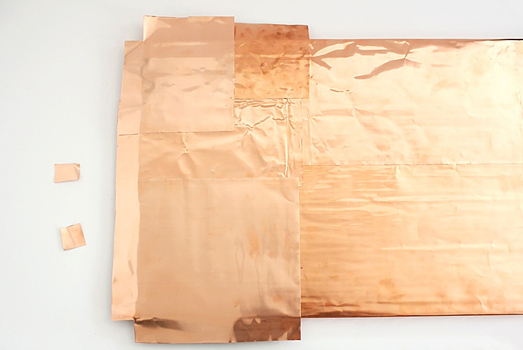 Easy DIY Copper Inspiration Board @idlehandsawake