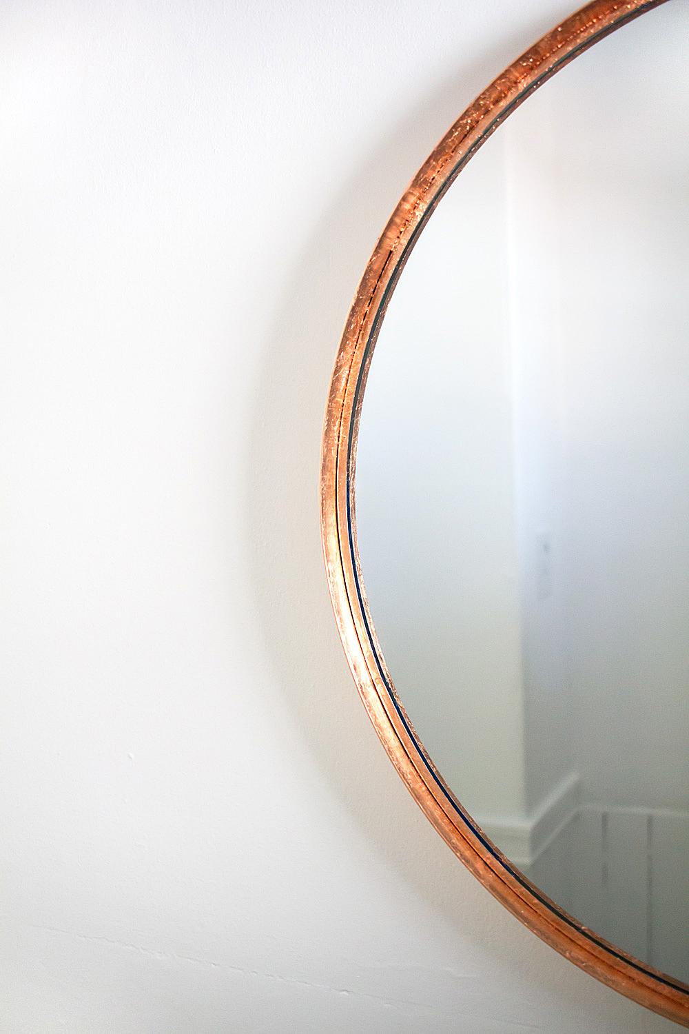 You Can Turn Any Plain Mirror Into A Diy Copper On Budget Using Just