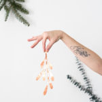 DIY Copper Mistletoe
