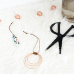 Because you can't holiday without copper: DIY Copper Wire Hoop Ornaments