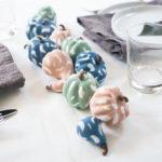 DIY Pastel Brushstroke Pumpkins