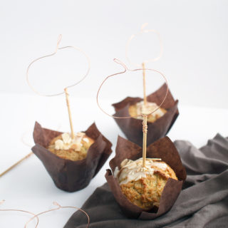 These DIY Wire Pumpkin Cupcake Toppers come together fast in just 4 steps with 2 materials, so you can get back to what