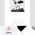 Favorite Free 2017 Calendar Printables