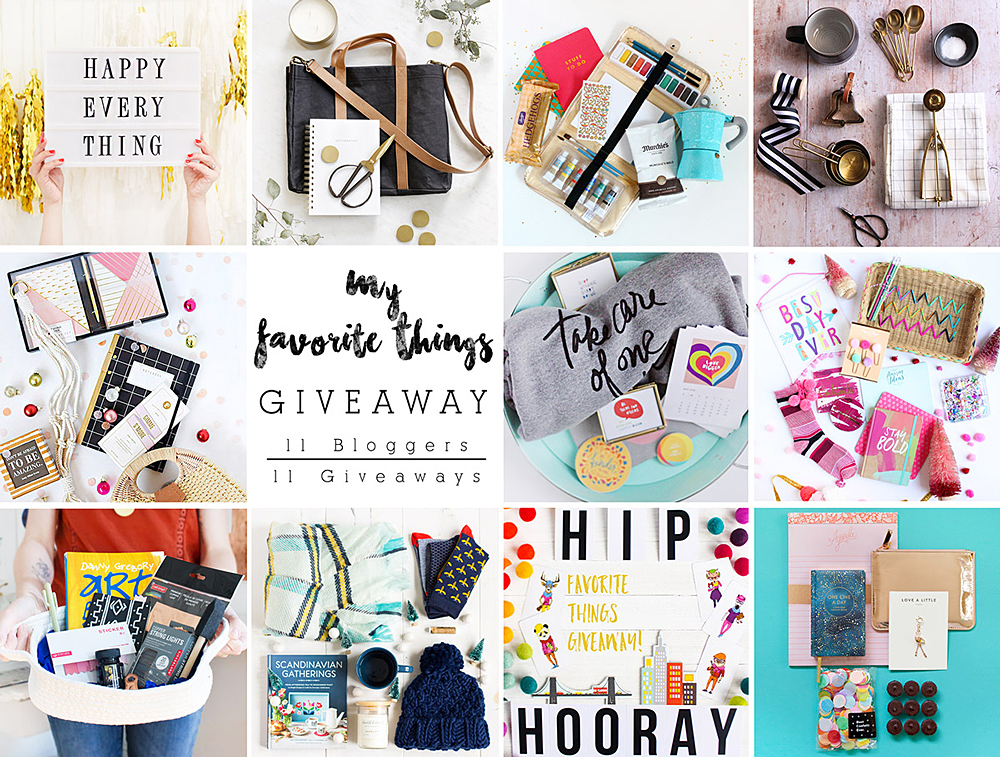 11 Bloggers, 11 Giveaways - Enter to win our favorite things!