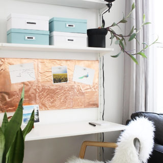 Easy DIY Copper Inspiration Board