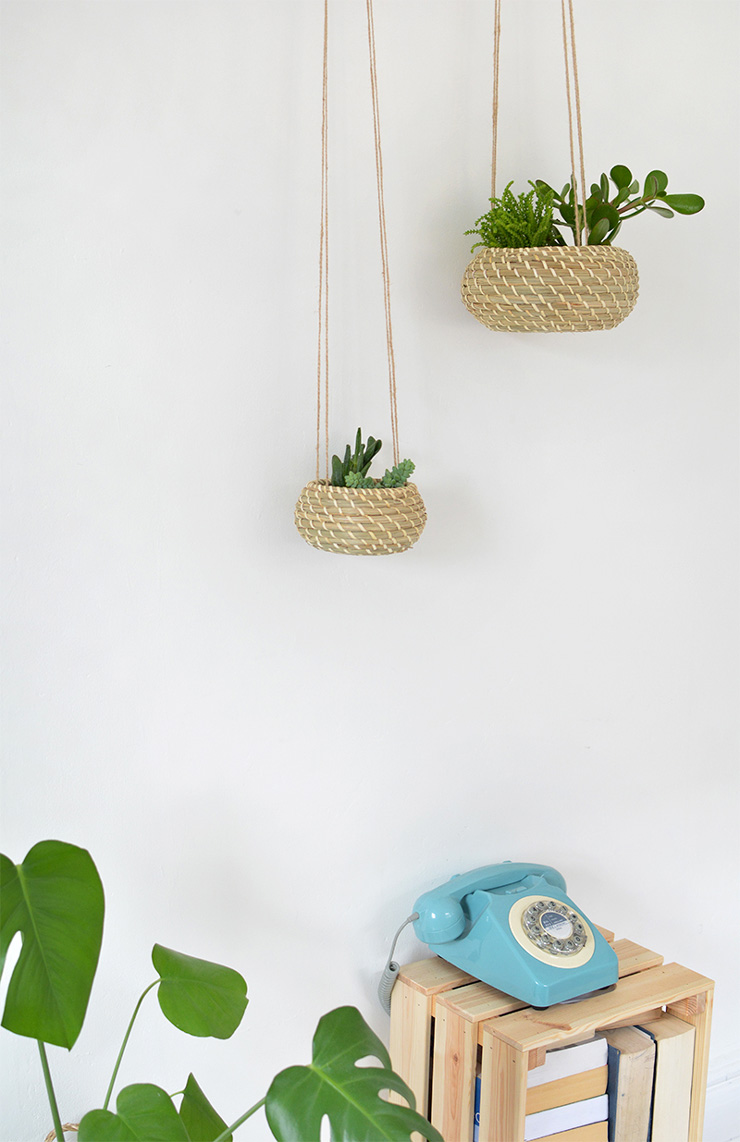 Hanging Seagrass Planters - Burkatron