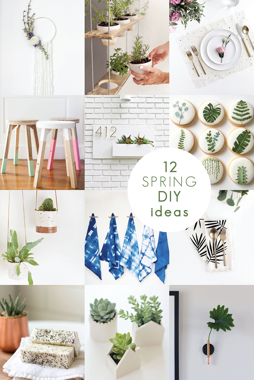 12 Minimalist Spring DIY Ideas