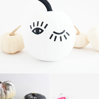 Last Minute No-Carve Pumpkin Decorating Ideas @idlehandsawake
