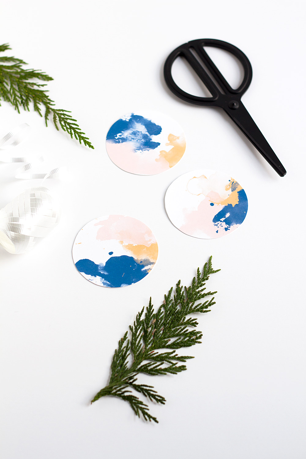 Printable Watercolor Gift Tags @idlehandsawake