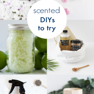Grab some flower petals and essential oils, we're making scented DIYs today!