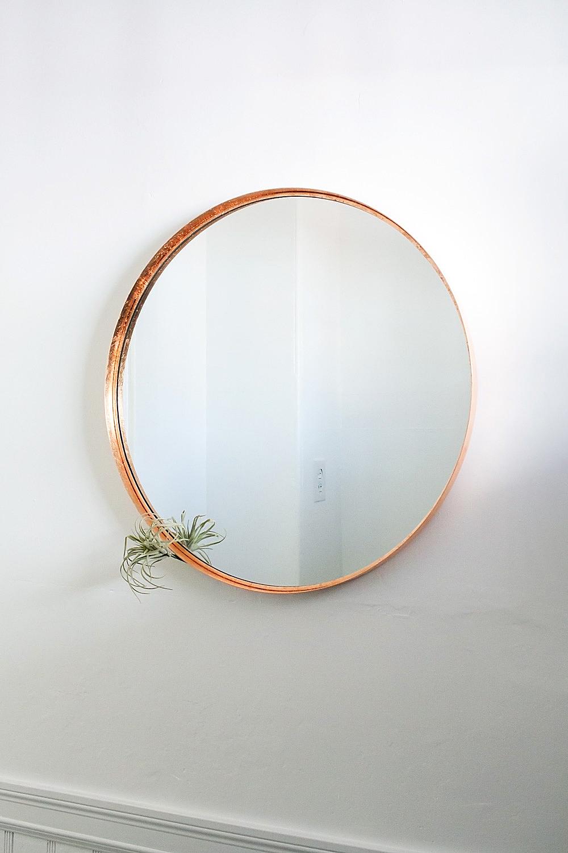 Ikea Hack Make Your Own Diy Copper Mirror Idle Hands Awake